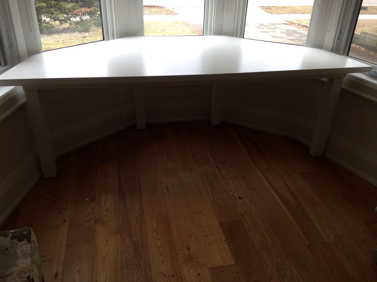 Bay Window Desk STL Custom Woodworking
